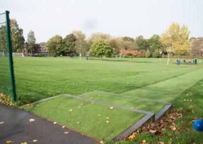 Large school field