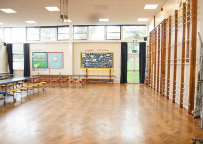Lower school hall