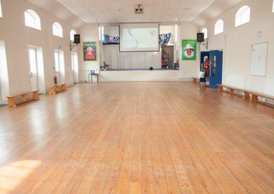 Upper school hall